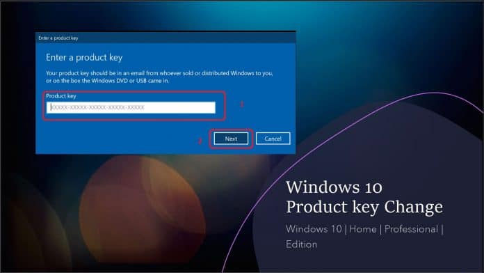 Windows 10 Product Key Change Home to Professional Upgrade Activate