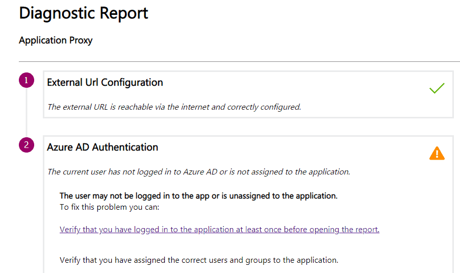Intune SCEP HTTP Error - AAD App Proxy related HTTP Error - This page cannot be displayed - App Proxy Diagnostic Reports