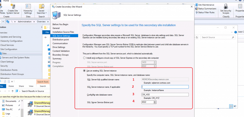 SCCM Secondary Server Installation Guide | Step by Step | ConfigMgr 5