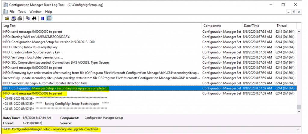 SCCM Secondary Site Server Upgrade to 2006 Version | ConfigMgr 3