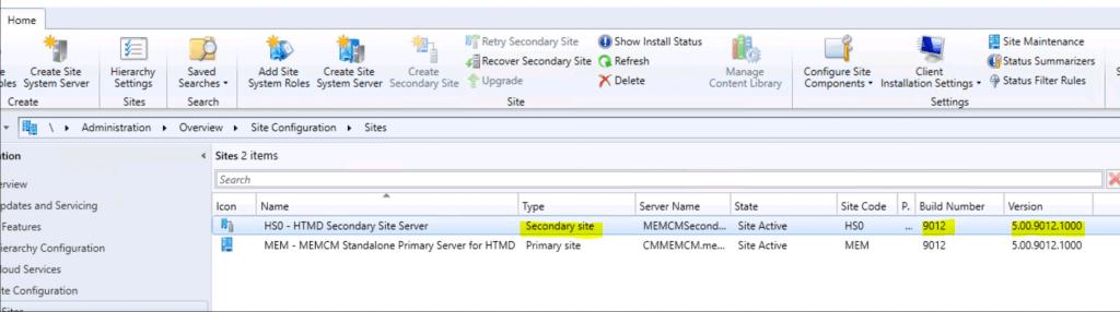 SCCM Secondary Site Server Upgrade to 2006 Version | ConfigMgr 5