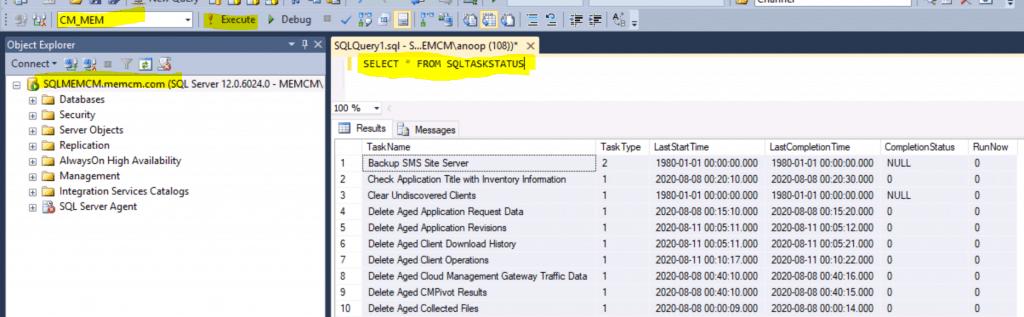 Primary Server Maintenance Tasks