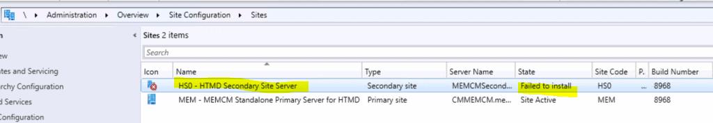SCCM Secondary Server Installation Failed Error| ConfigMgr | Fix