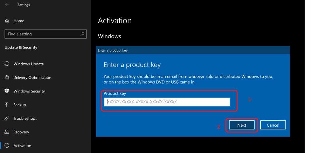 Windows 10 Product Key Change Home to Professional Upgrade | Activate