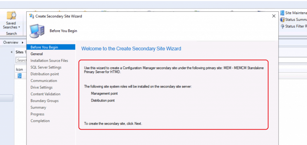 SCCM Secondary Server Installation Guide | Step by Step | ConfigMgr 2