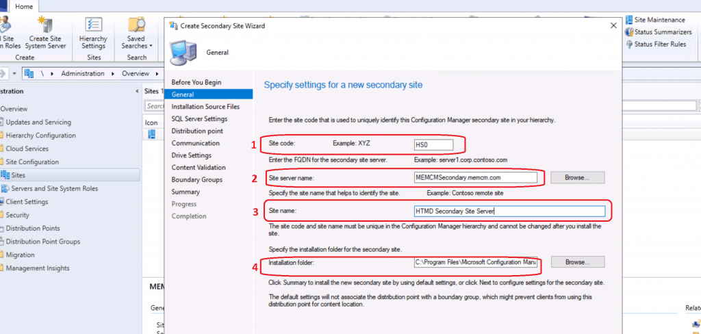 SCCM Secondary Server Installation Guide | Step by Step | ConfigMgr 3