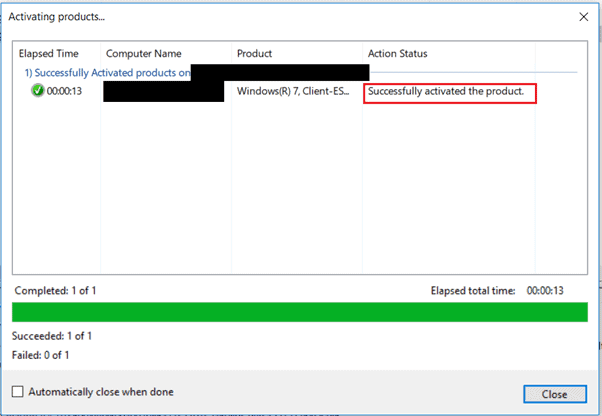 Install VAMT Activate Windows 7 ESU keys using VAMT | SCCM