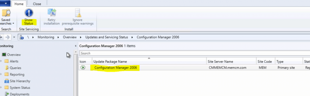 SCCM Primary Server Upgrade to 2006 | ConfigMgr | Guide | Step by Step 2