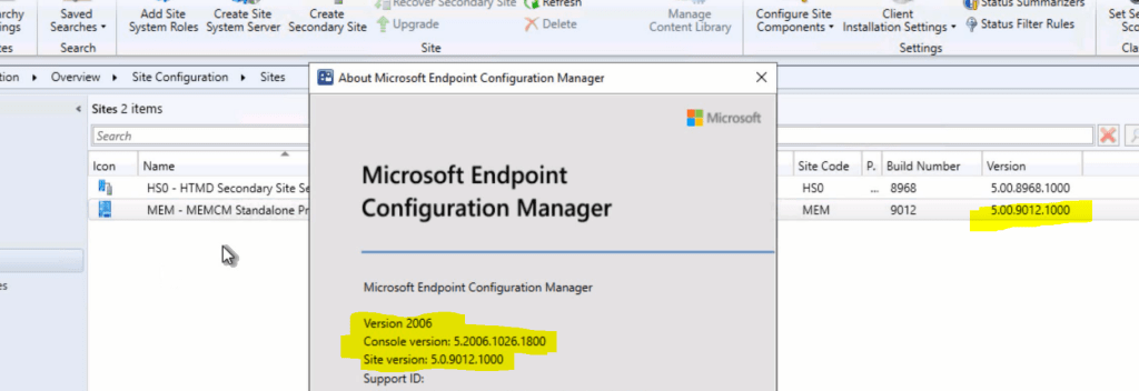 SCCM Primary Server Upgrade to 2006 | ConfigMgr | Guide | Step by Step