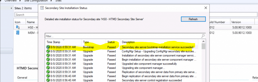 SCCM Secondary Site Server Upgrade to 2006 Version | ConfigMgr 4