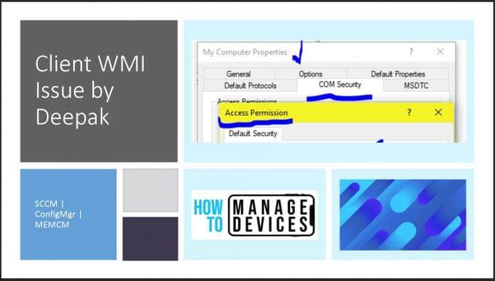 Fix SCCM Client WMI Issues
