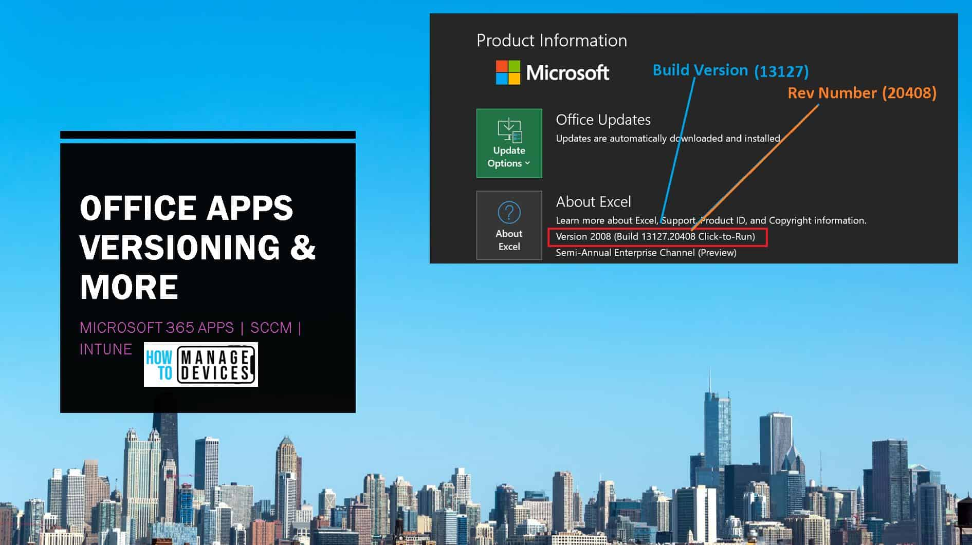 Office 365 Apps End of Support Dates
