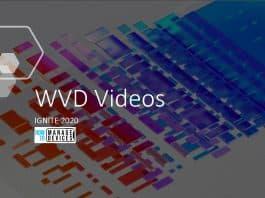 WVD Deep Dive Technical Videos