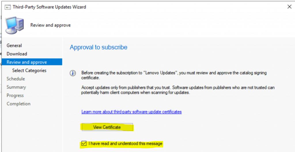 Lenovo Updates Catalog V3 for SCCM | Third-Party Updates