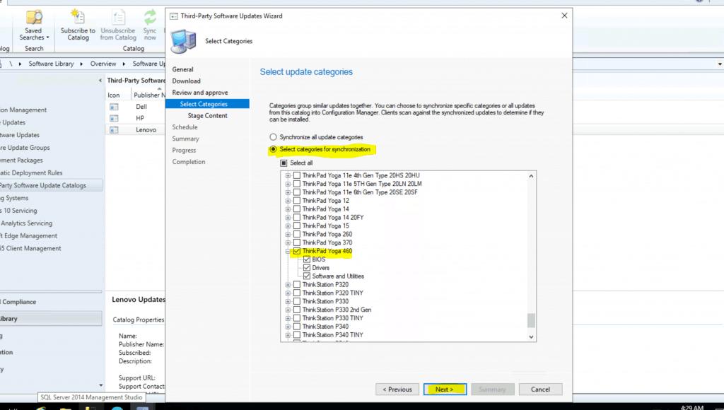 Lenovo Updates Catalog V3 for SCCM | Third-Party Updates for ConfigMgr