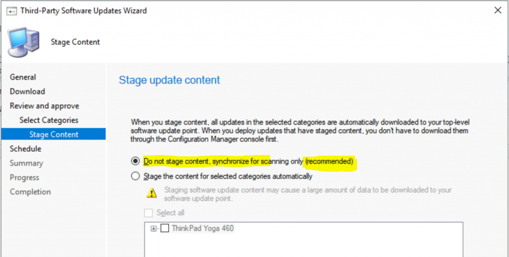 Lenovo Updates Catalog V3 for SCCM | Third-Party Updates 1
