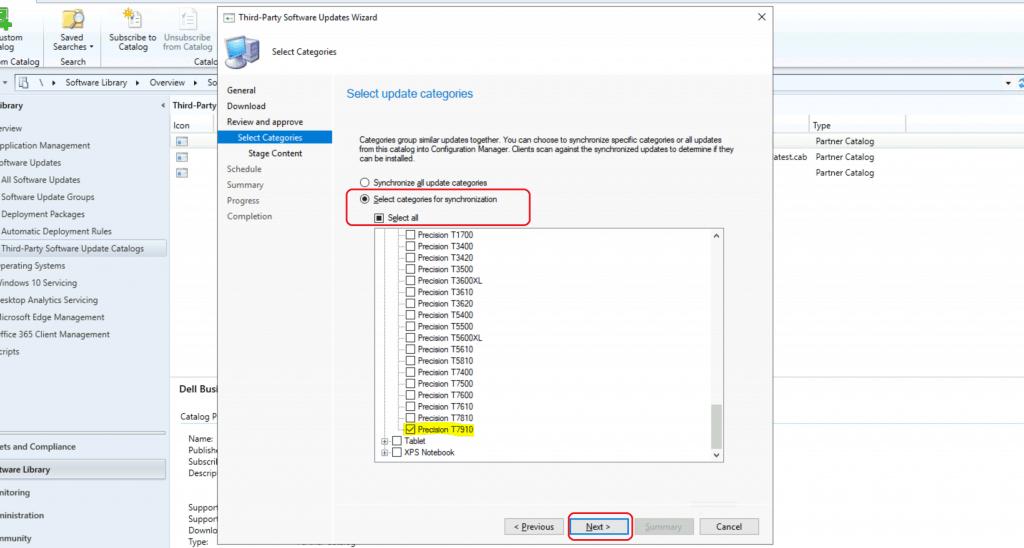 ConfigMgr Dell Updates Catalog V3 for SCCM