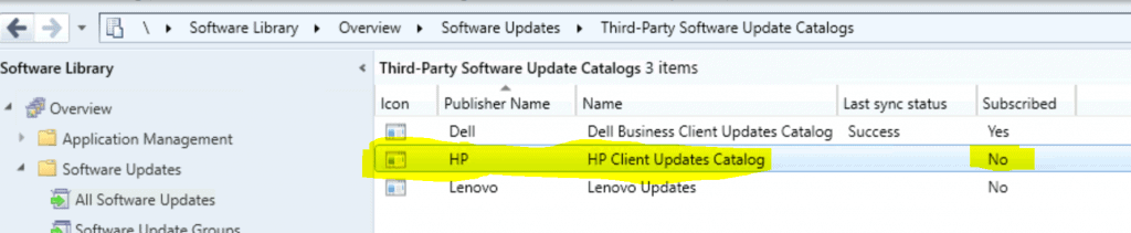 ConfigMgr HP Updates Catalog V3 for SCCM | Third-Party Updates