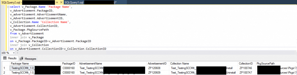 SCCM SQL Query to Find Collections Used for App Deployment | ConfigMgr