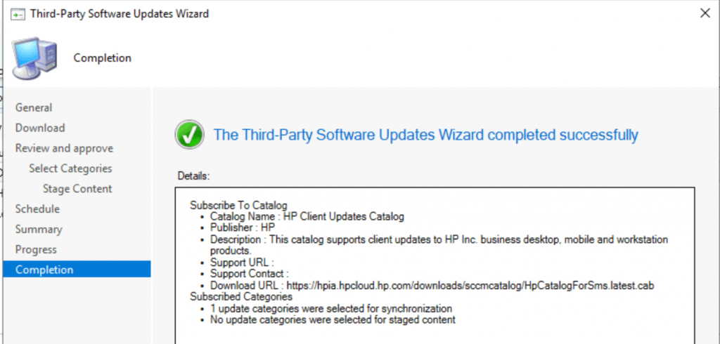 ConfigMgr HP Updates Catalog V3 for SCCM | Third-Party Updates 3
