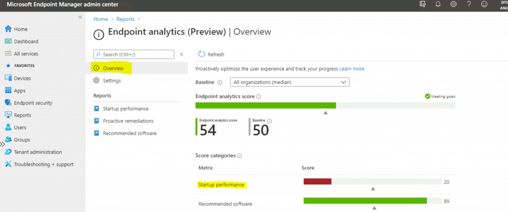 Upload Endpoint Analytics Data