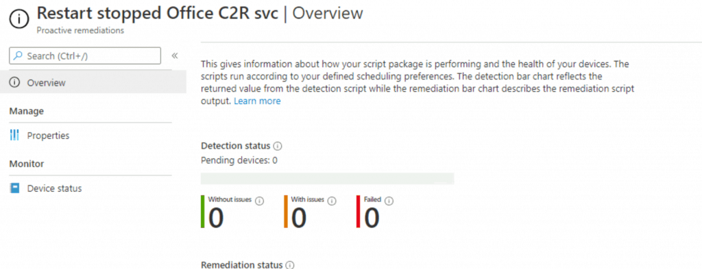 Deploy Proactive Remediation Script Packages | Built-in | SCCM 3