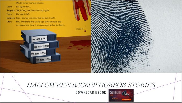 Halloween Backup Horror Stories