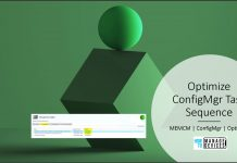Optimize ConfigMgr Task Sequence