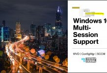 Windows 10 Multi-Session Support