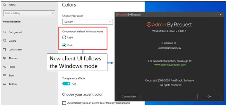 What's New with Admin By Request version 7 - Learn With Joy 1