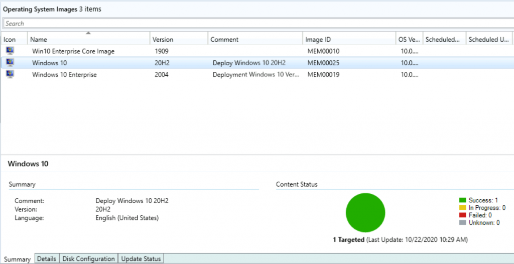 Deploy Windows 10 20H2 Using SCCM Task Sequence | ConfigMgr 3