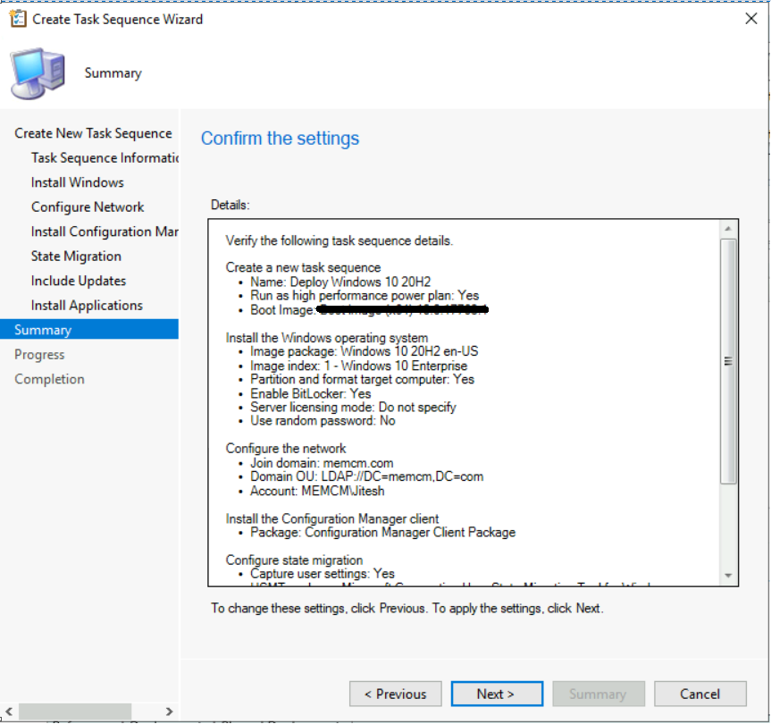 Deploy Windows 10 20H2 Using SCCM Task Sequence | ConfigMgr 5