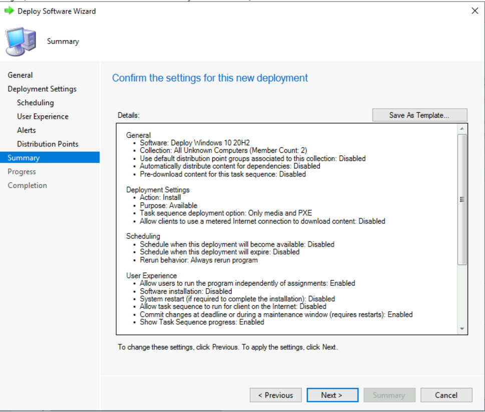 Deploy Windows 10 20H2 Using SCCM | ConfigMgr | MEMCM