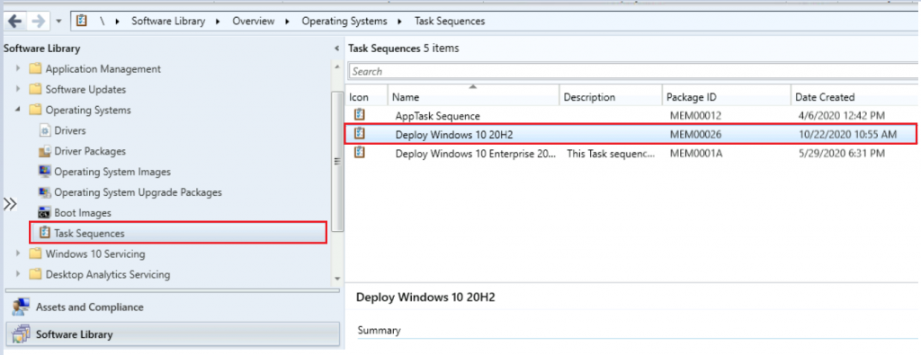 Deploy Windows 10 20H2 Using SCCM Task Sequence | ConfigMgr 6