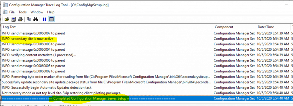 Fix SCCM Secondary Server Recovery Failed Issue | ConfigMgr 5