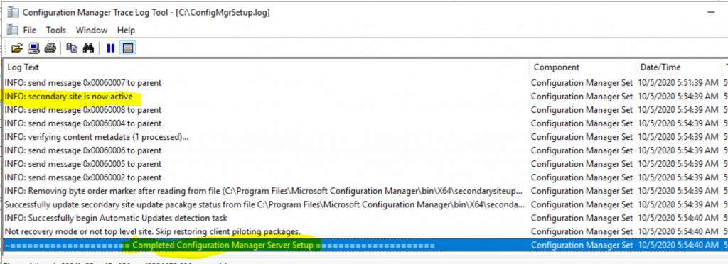 Recover Secondary Site Fix SCCM Secondary Server Recovery Failed Issue | ConfigMgr 2