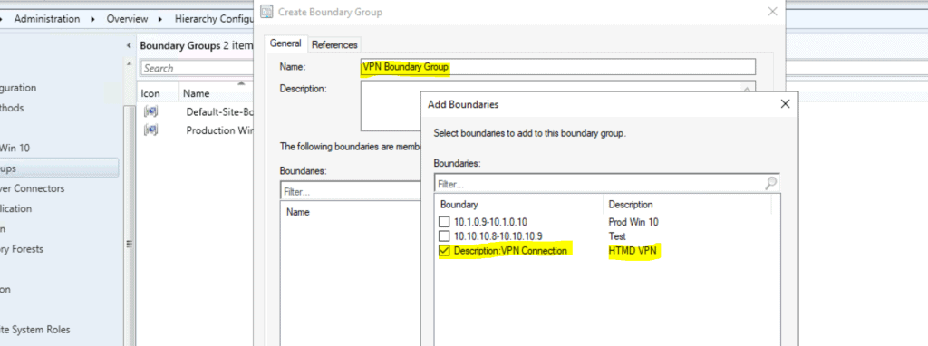 ConfigMgr VPN Boundary Creation Process Explained | SCCM