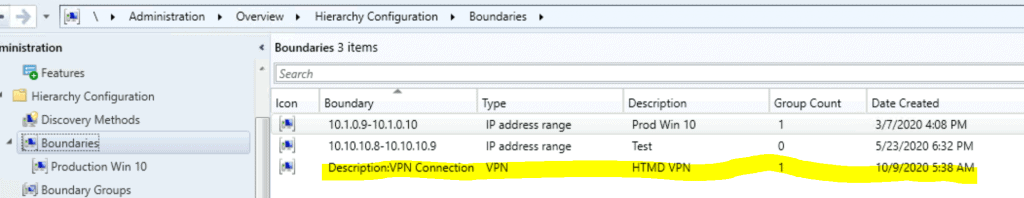 ConfigMgr VPN Boundary Setup Process Explained | SCCM 2