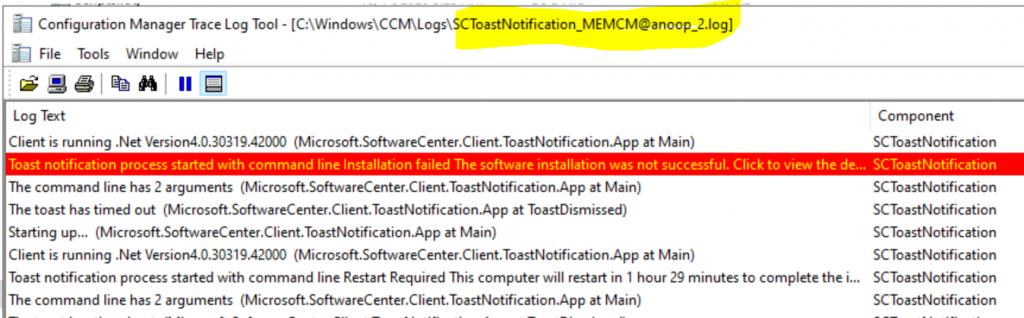 ConfigMgr Client Logs Details | SCCM 1