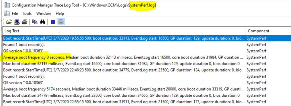 ConfigMgr Client Logs Details | SCCM
