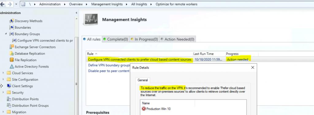ConfigMgr Optimization Options for Remote Workers | SCCM