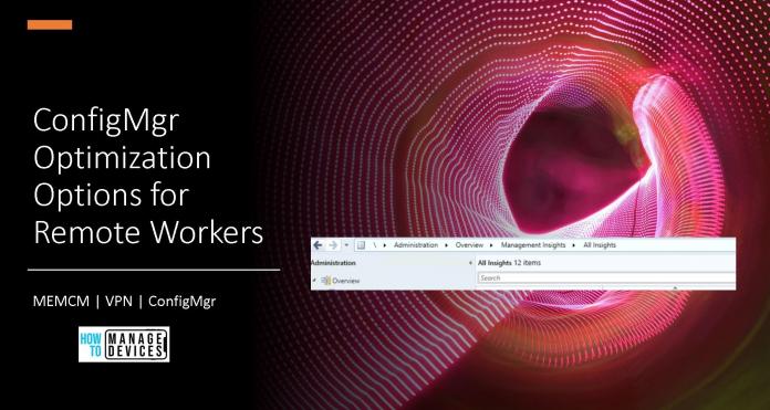 ConfigMgr Management Insights