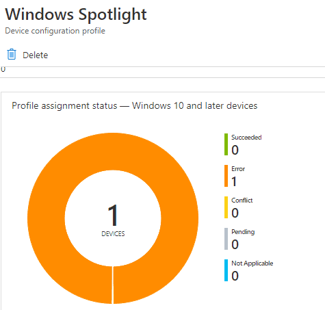Easily Troubleshoot Windows 10 Intune MDM Policies - Policy status is in Error though policy settings shows implemented in regsitry