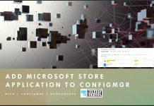Add Microsoft Store Application