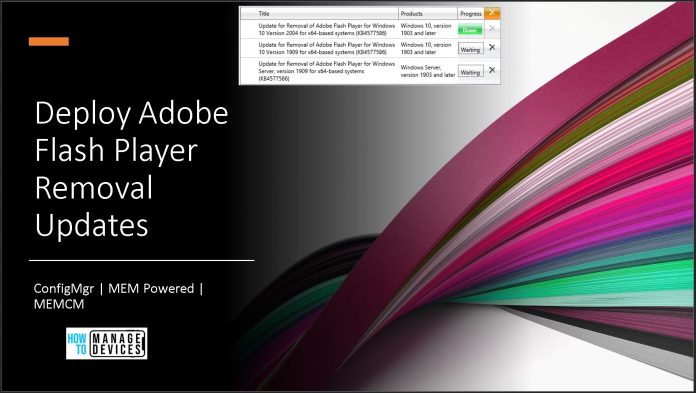 Adobe Flash Player Removal
