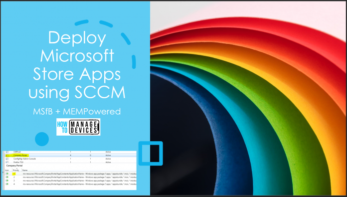 Deploy Microsoft Store Apps