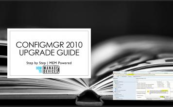 SCCM 2010 Upgrade Guide
