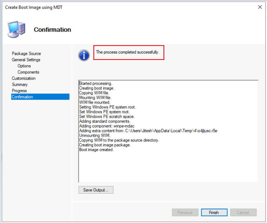 SCCM Create Custom Windows PE Boot Image Using MDT with ConfigMgr