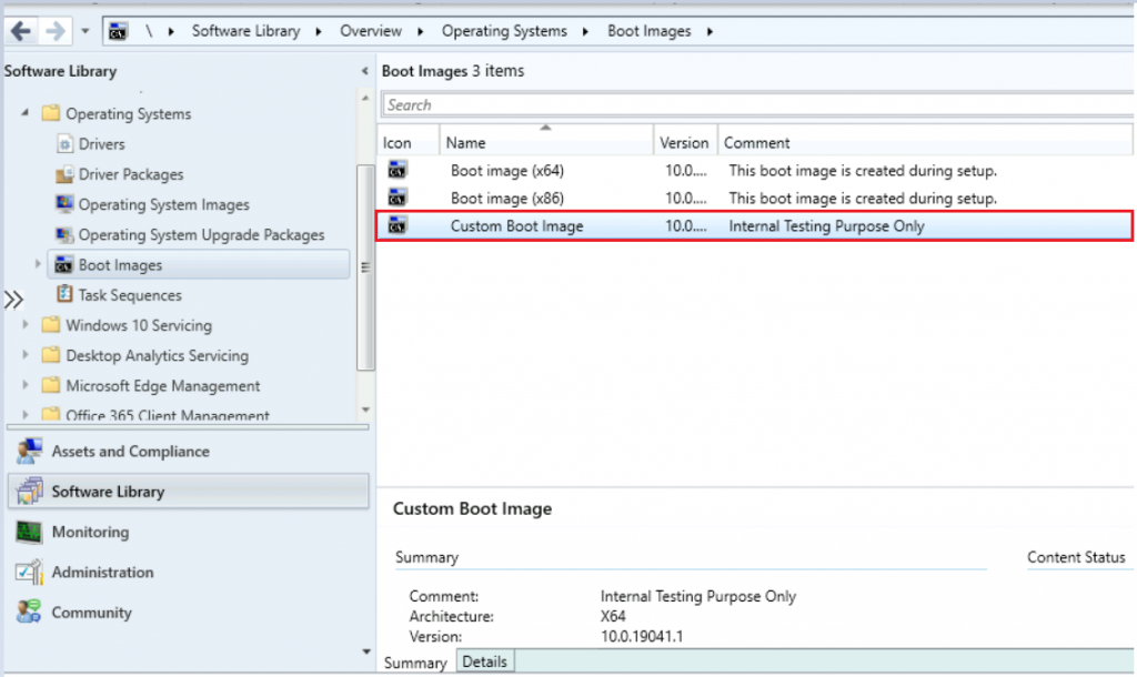 SCCM Create Custom Windows PE Boot Image Using MDT with ConfigMgr