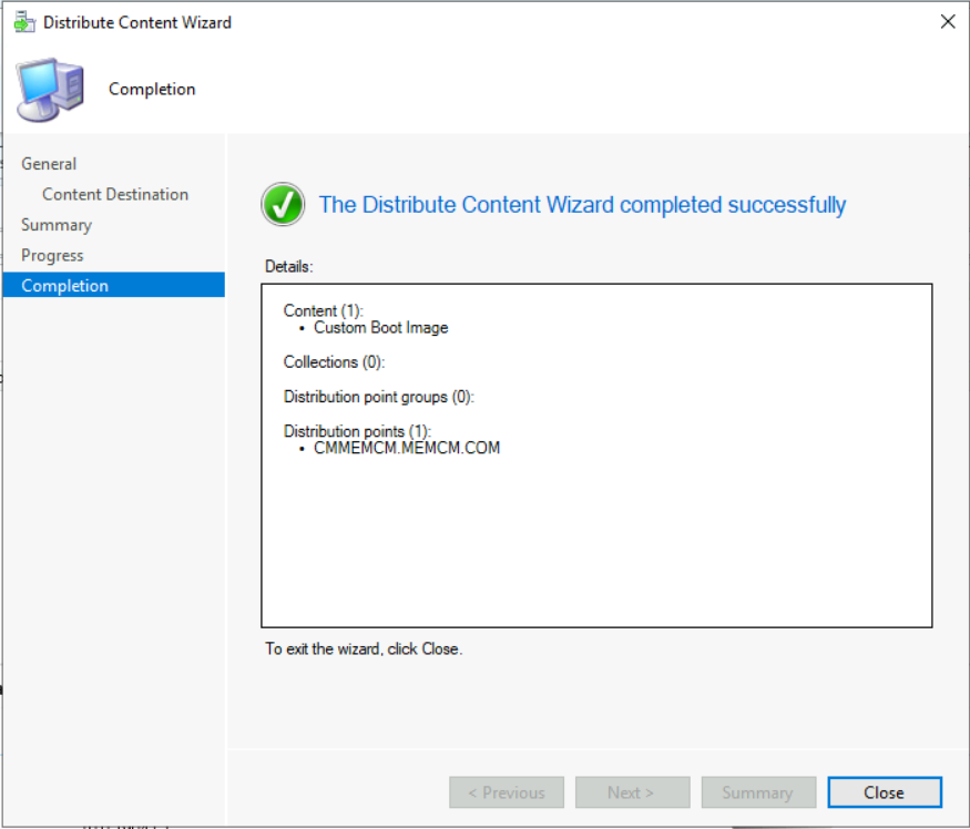 SCCM Create Custom Windows PE Boot Image Using MDT with ConfigMgr 8
